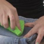 manchas desconhecidas em tecido