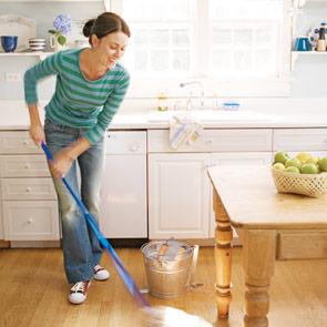 limpar vomitado do chão