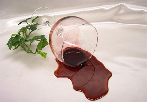 nódoas de vinho